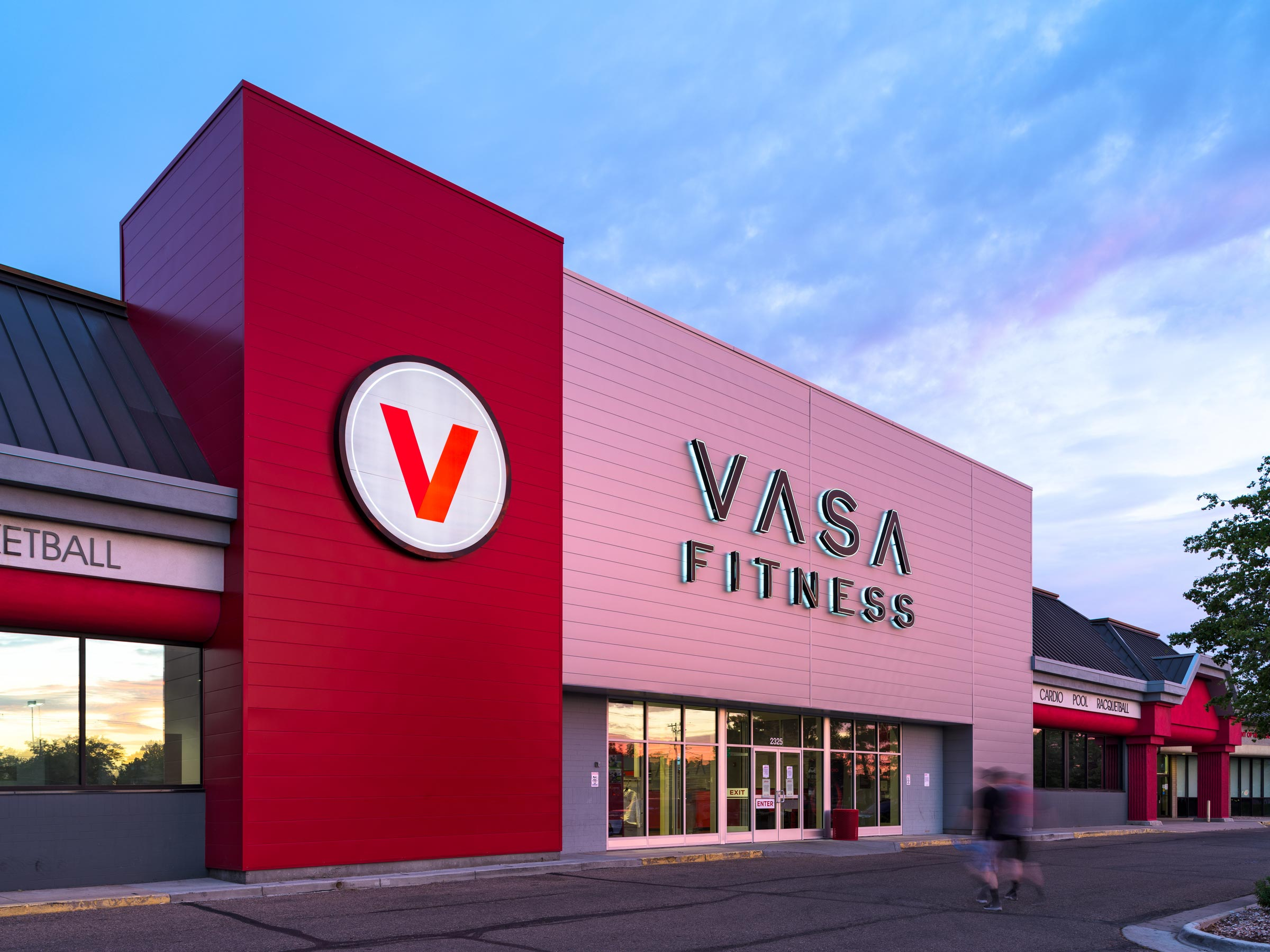 Vasa Fitness - Retail Architecture Photography - Greeley, Colorado
