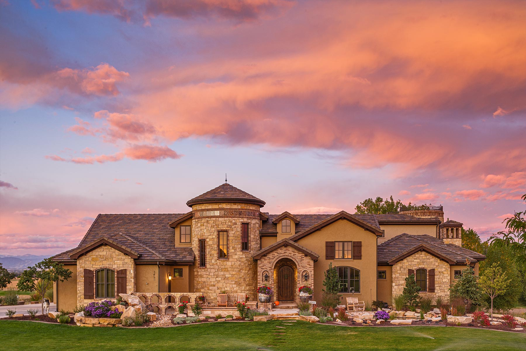 Brannen Homes - Residential Architecture Photography - Timnath, Colorado