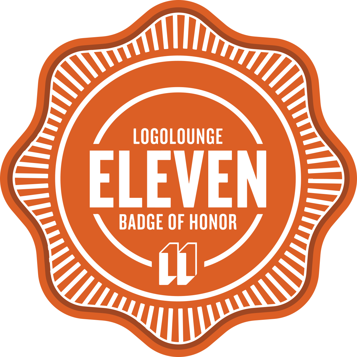 LogoLounge 11 - Badge of Honor