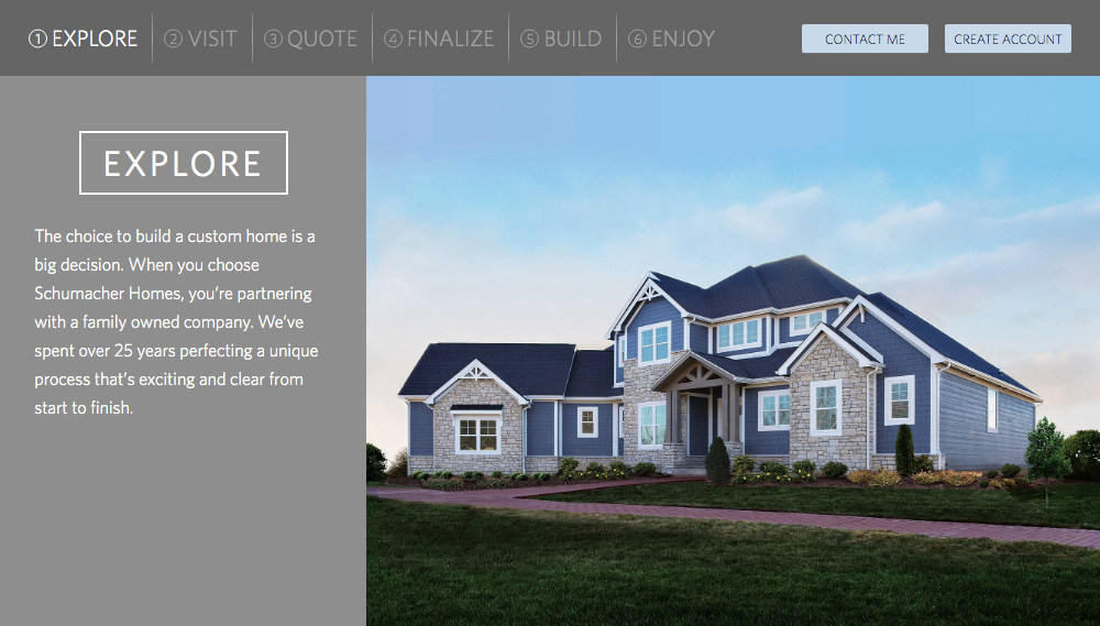 Home Builder Websites - Your Approach Step 1