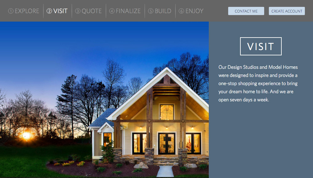 Home Builder Websites - Your Approach Step 2