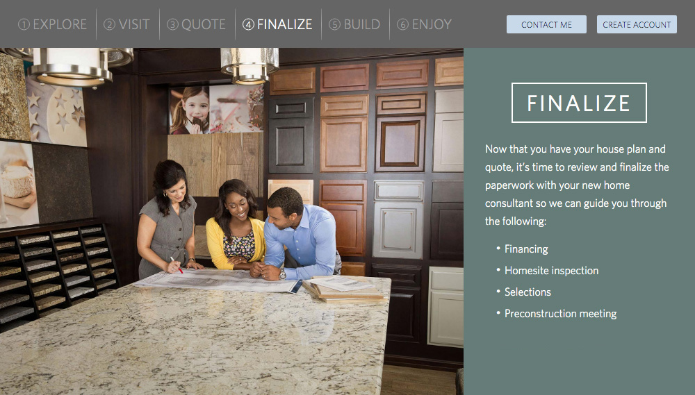 Home Builder Websites - Your Approach Step 4