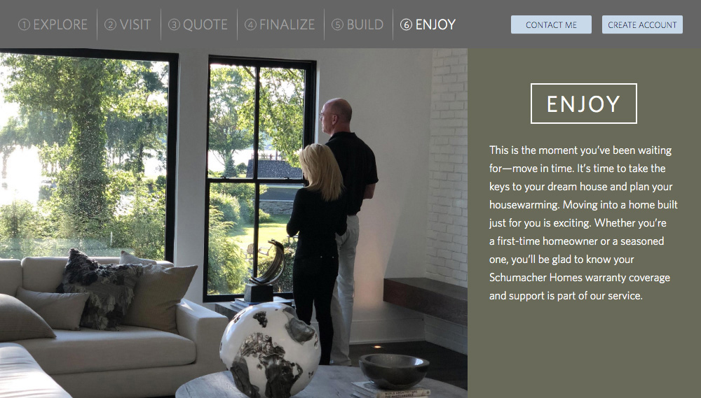 Home Builder Websites - Your Approach Step 6
