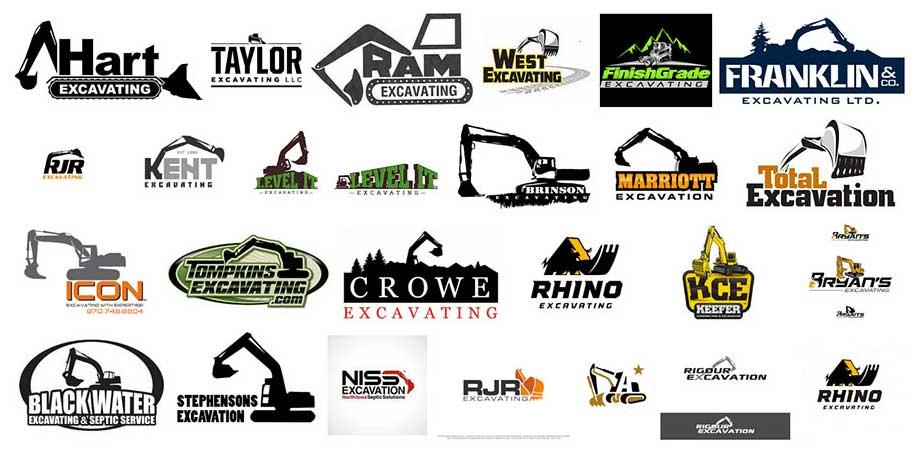 Excavating Logos