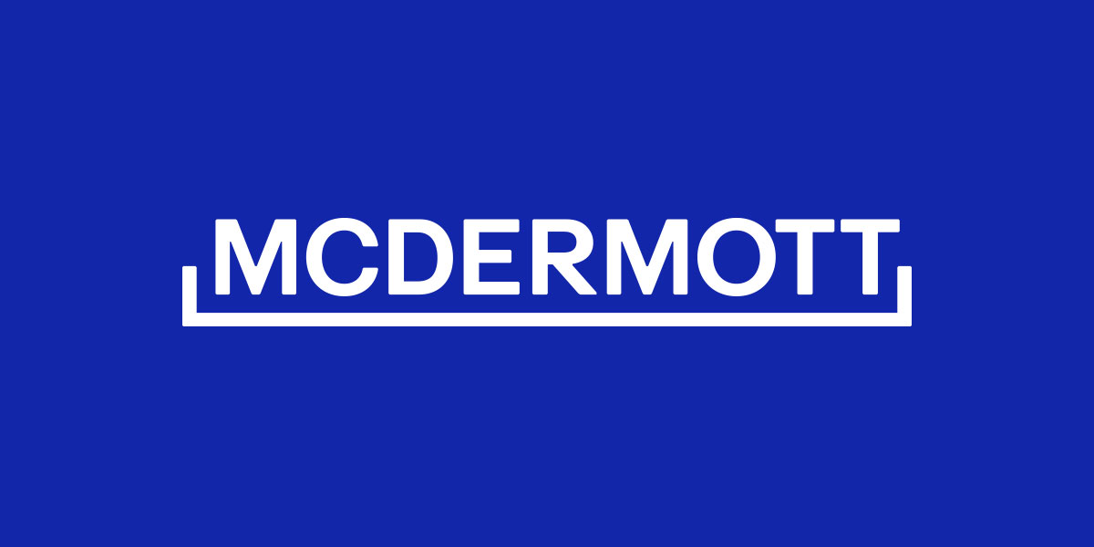 McDermott - Top 10 US Construction Companies and Their Logos