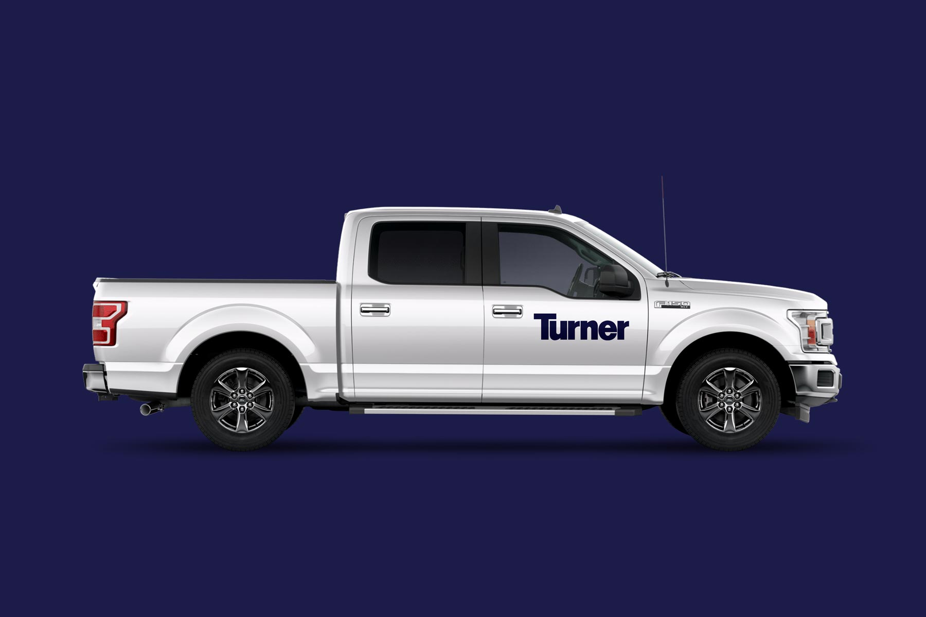Turner - Construction Company Logo on a Truck