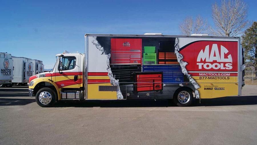 SBW truck wrap.