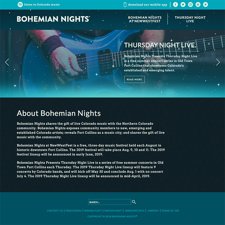 Nonprofit Marketing Case Study - Bohemian Nights - Diggles