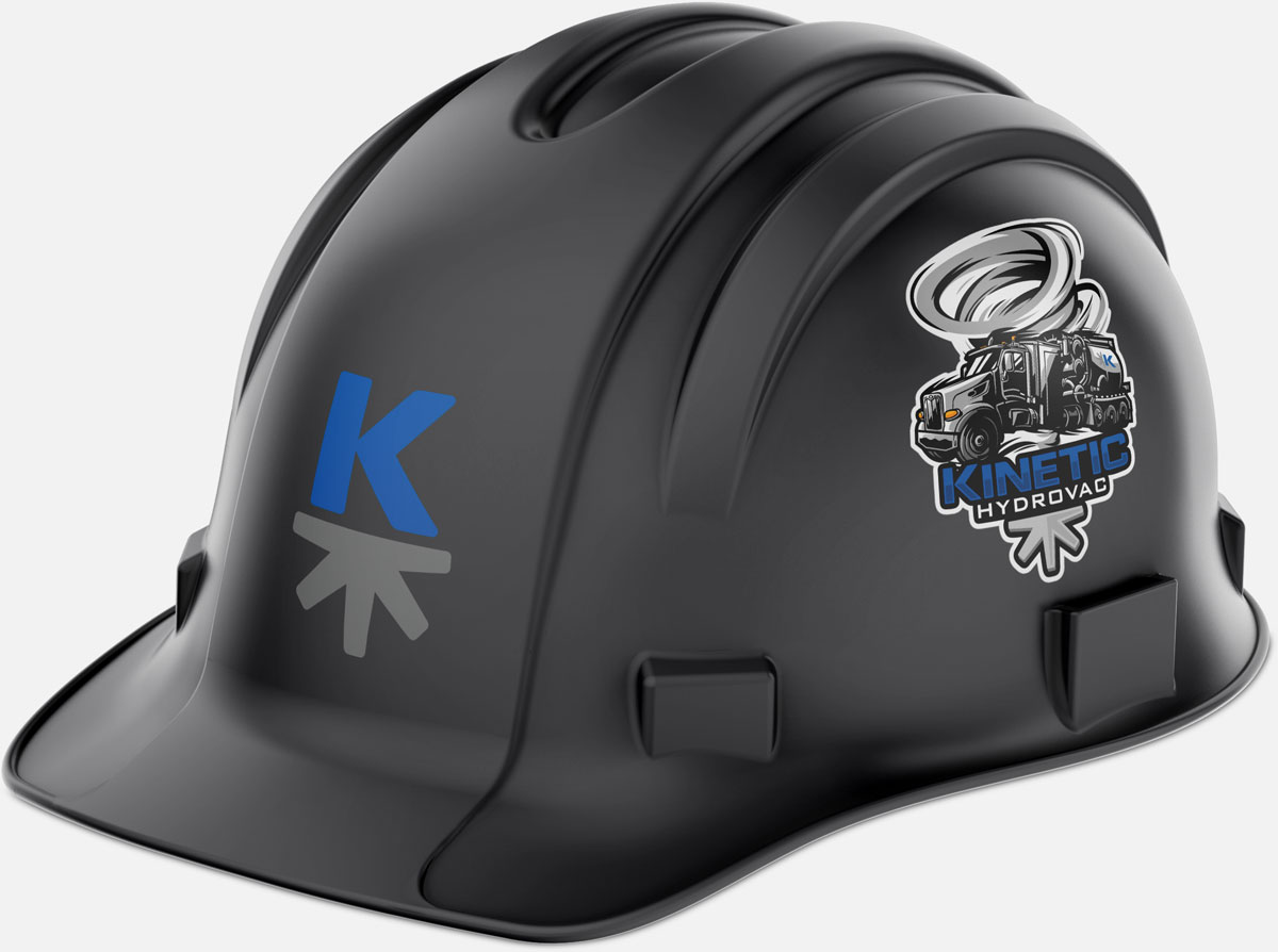 Hardhat graphics for Kinetic Industry