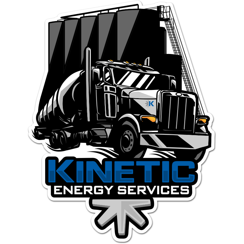Hardhat stickers for Kinetic Industry