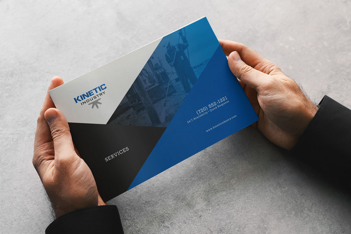 Sales brochure for Kinetic Industry