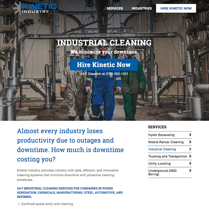 Services - Kinetic Industry