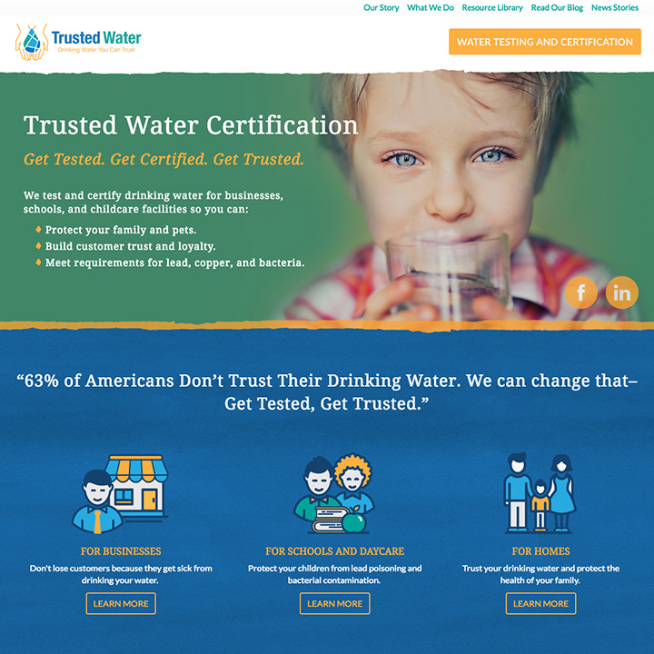 Homepage - Trusted Water