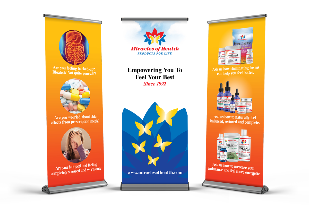Retractable Banners - Event Displays