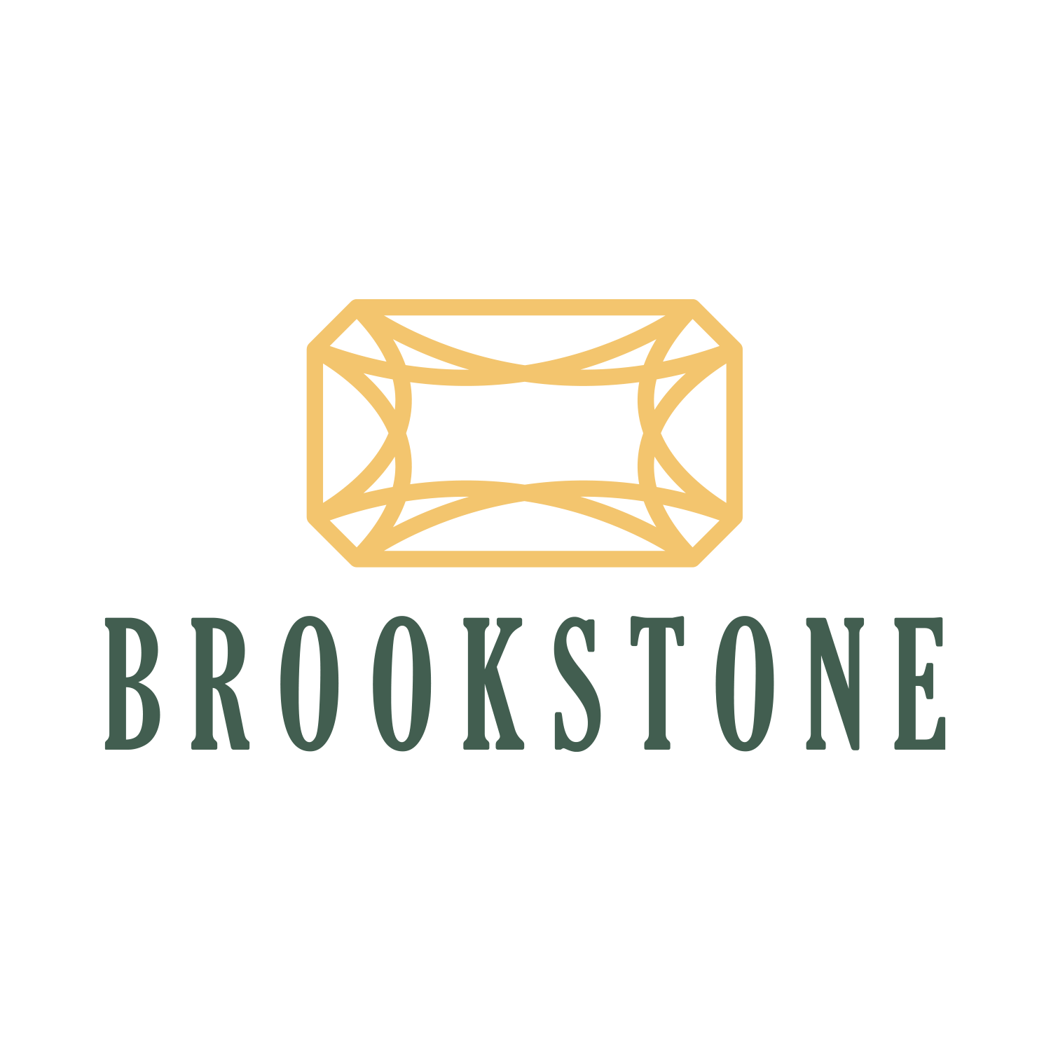 Brookstone Townhomes Logo Design - Milliken, CO Townhomes