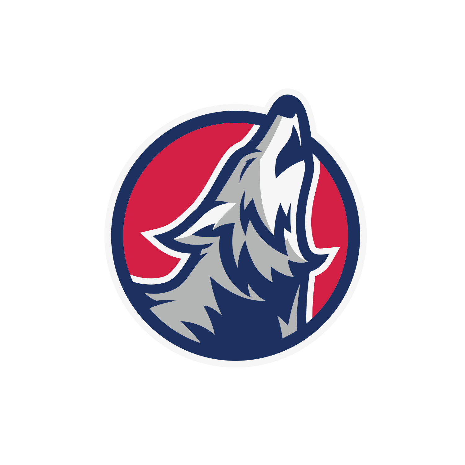 Howling Wolf Excavating Logo Design - Windsor, CO Construction Company