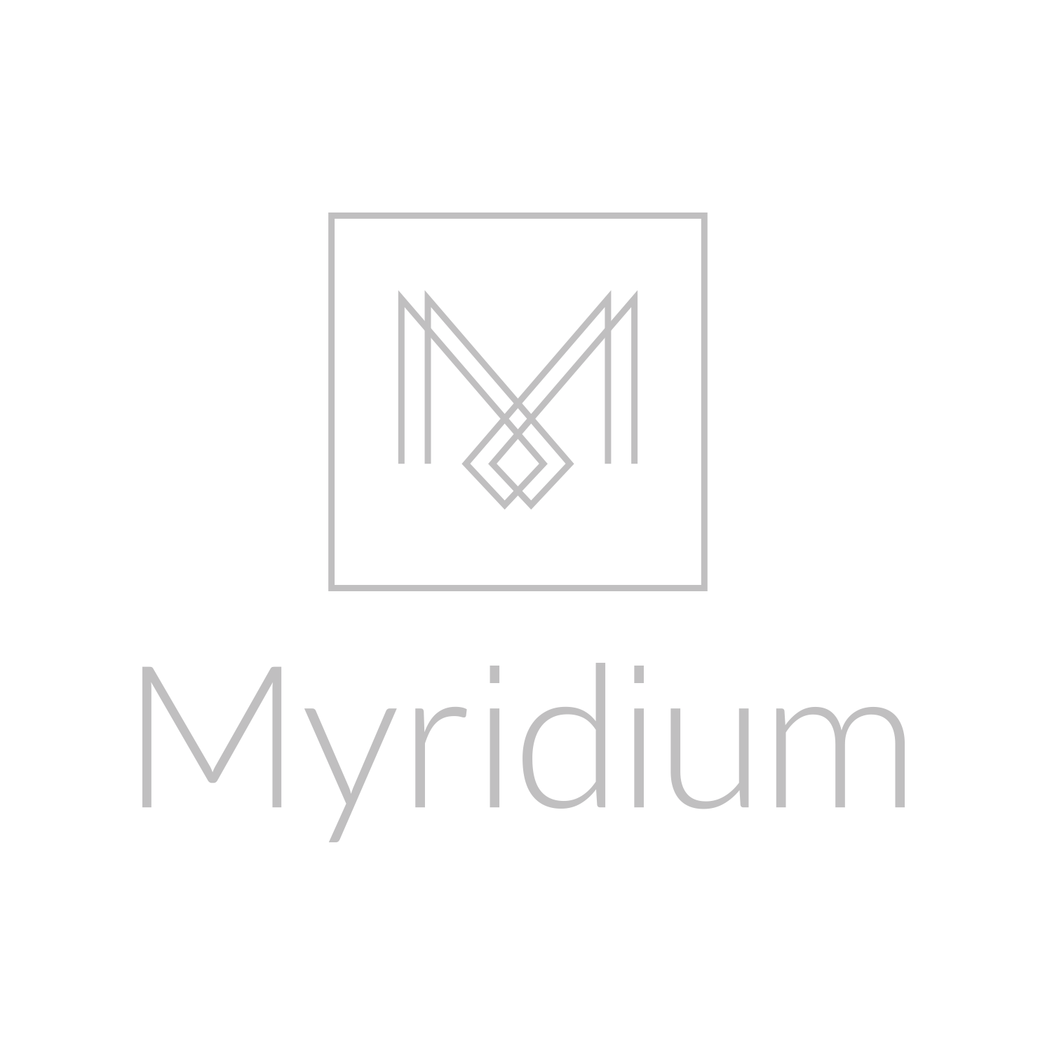 Myridium Logo Design - Fort Collins, CO Luxury Apartments
