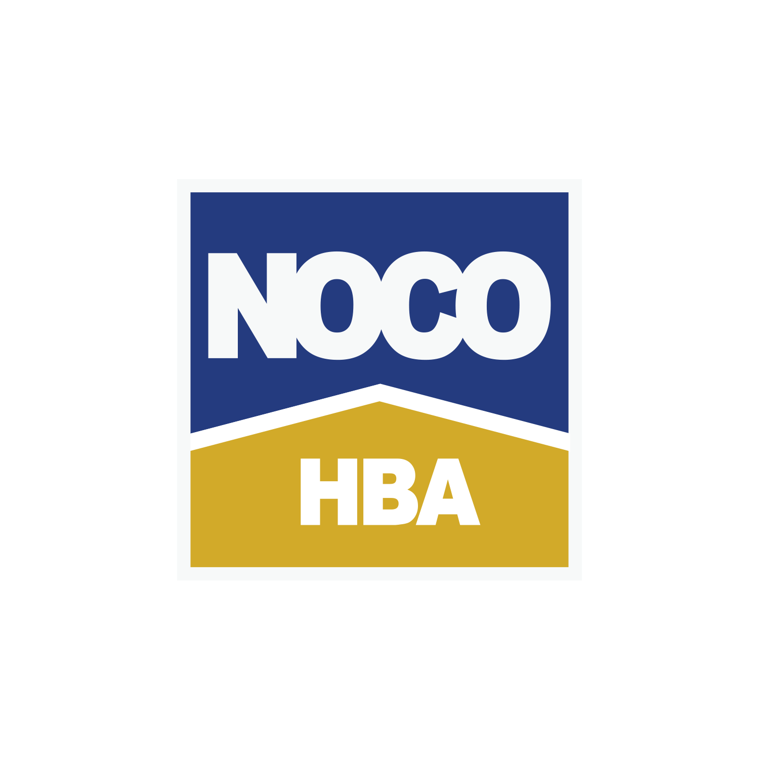 NOCO HBA Logo Design - Loveland, CO Real Estate Association